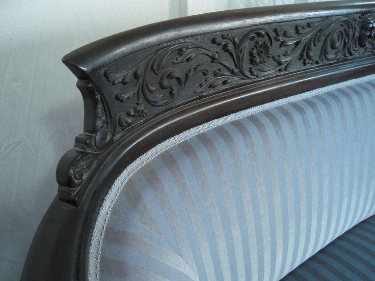Antique Formal Parlor Suite Sofa Chairs 1914 Davenport