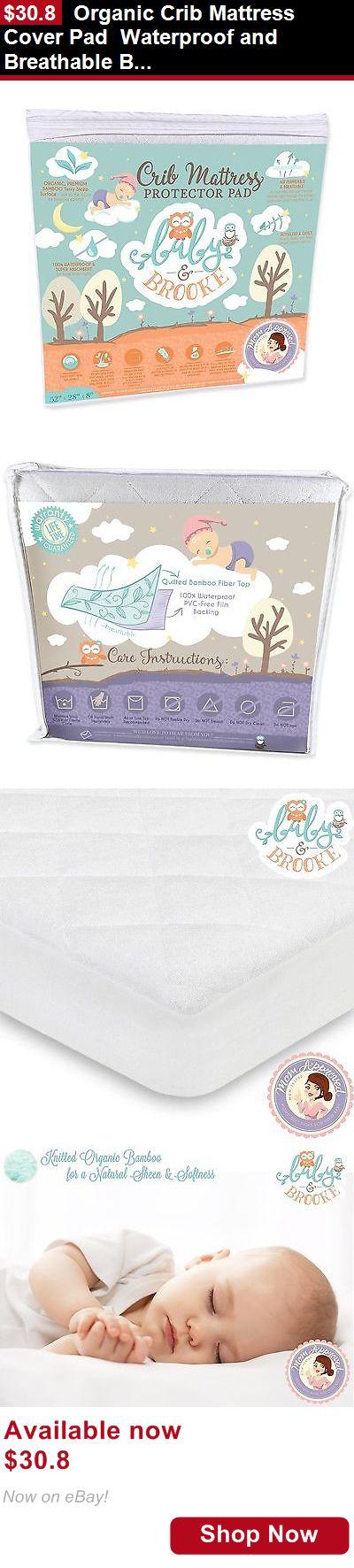 Dream On Me Playard Mattress Mattress Pads And Covers: Organic Crib Mattress Cover Pad Waterproof ...