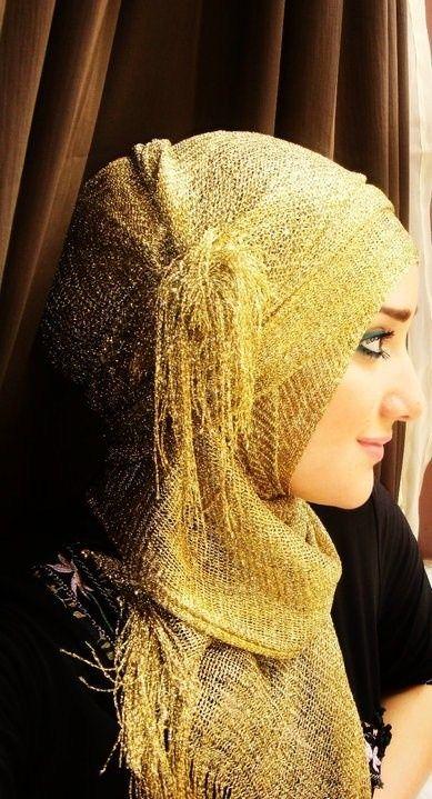 Hijab+makeup ♥