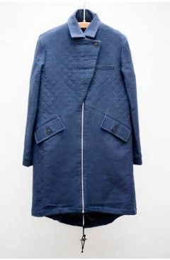 still searching for the perfect navy quilted coat