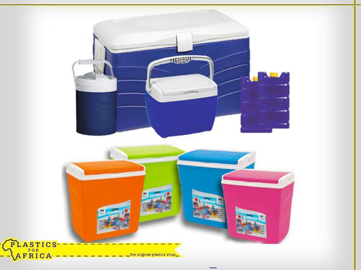 #SummerIsHere! Be prepared when heading to the beach or going on a picnic with these cooler boxes and cooler bags, available from #PlasticsforAfrica.