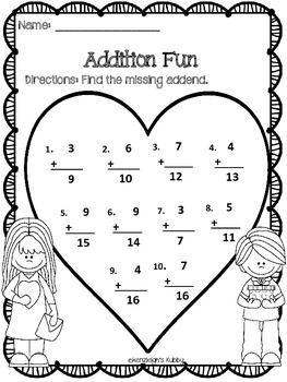 247 best Valentine's Day Math Activities images on