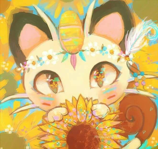 Cute lil Meowth