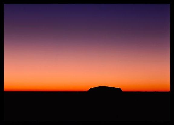 Dawn, Ayers Rock. Uluru-Kata Tjuta National Park, Northern Territories, Australia.