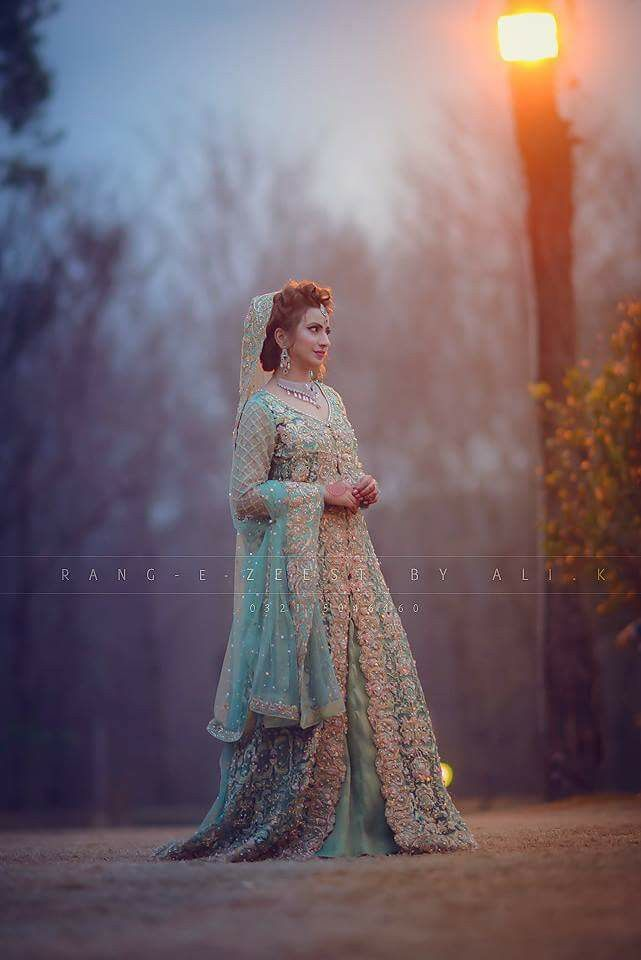 Pakistani bridal wear - Asma Lashari Baloch