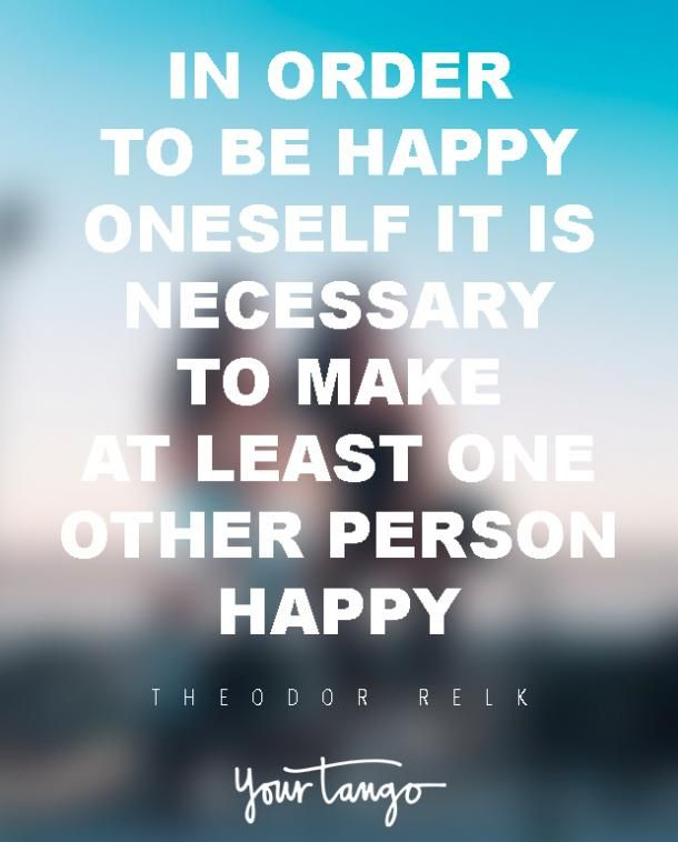 """""""In order to be happy oneself it is necessary to make at least one other person happy."""" #TogetherV #RomanticExperience #QuoteoftheDay Download the app now:- https://goo.gl/QYO7g4"""