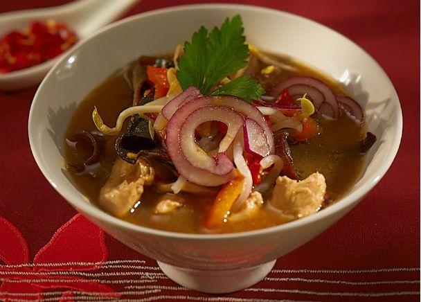 Pikantná kuracia polievka