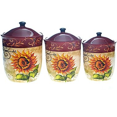 sunflower canister sets kitchen - 28 images - earth alone earthrise