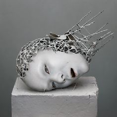 Sculptures of Decomposing Body Parts by Yuichi Ikehata