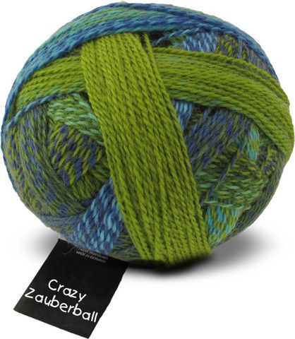 Crazy Zauberball - Self-Striping Sock Yarn - Tangled Yarn UK