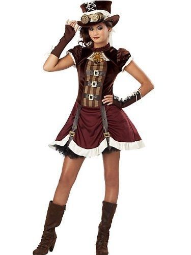 California-Costumes-Steampunk-Girl-Tween-Costume-Large