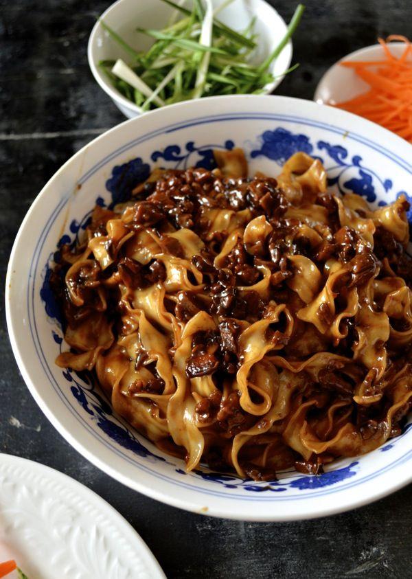 "... "" Noodles – Zha Jiang Mian | Recipe | Beijing, Sauces and Noodles"