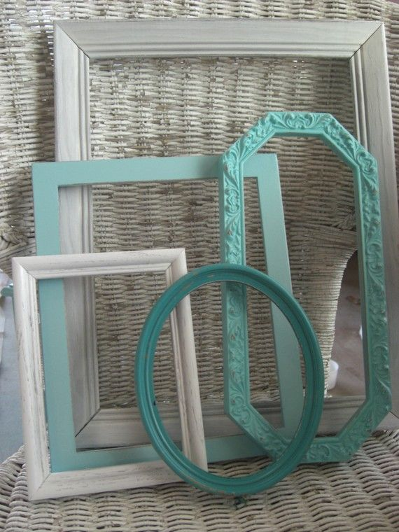 These would be cool to put on a wall and paint the inside with chalkboard paint for a kids room