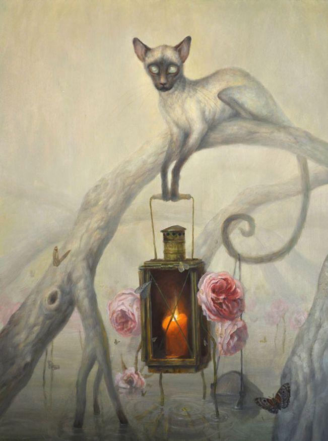 """Art : Digital Art & Art I love Martin Wittfooth, """"The Blind Fisherman"""""""