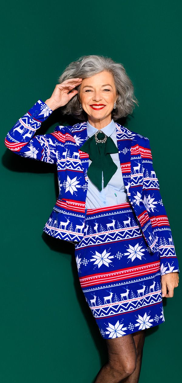 47d5d9cf35061f Women's style for Christmas with the suit from OppoSuits | Christmas ...