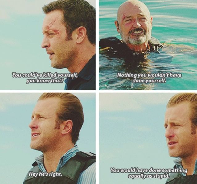 Steve McGarrett, Joe White, & Danny Williams