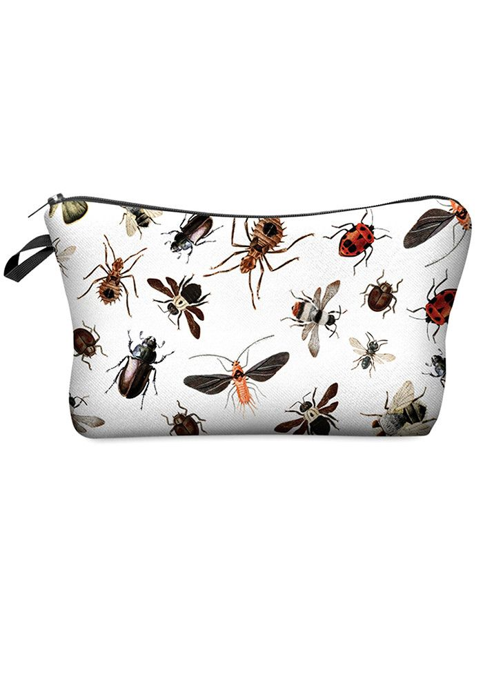 4.95e Gift yourself (or your bestie) this adorable make-up bag! A definite mood-lifter, choose one of our many prints to rep your beauty range! All over print Zipper