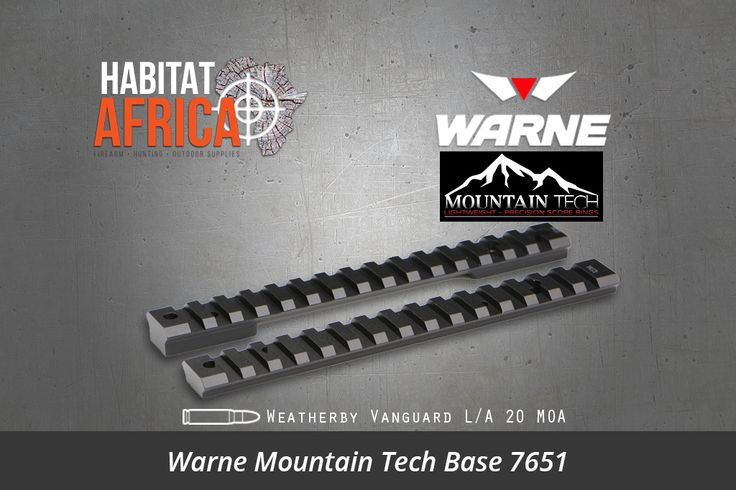 The Warne Mountain Tech Base 7651 Weatherby Vanguard LA 20 MOA is the next generation of precision rifle scope mounting systems from Warne Scope Mounts. As shooting platforms and targeting optics technology advances, the bond between them must advance as well. To get peak performance out of your hunting rifle [...]