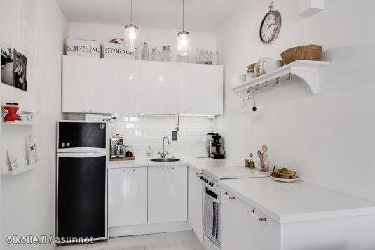 Myytävät asunnot, Kaarlenkatu 13 Kallio Helsinki #pikkukoti #keittiö #oikotieasunnot