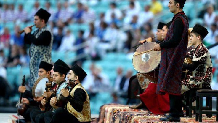Baku 2015 European Games ^^ opening ceremony