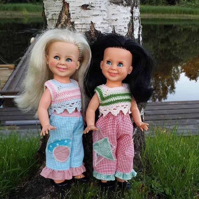 Nice ❤ #tjorven #vintage #rattidoll #nostalgi #dukker #dolls #homemade #hjemmesydd #tjorvenclothing #heklet