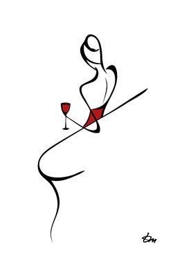 #wine art - Tatyana Markovtsev