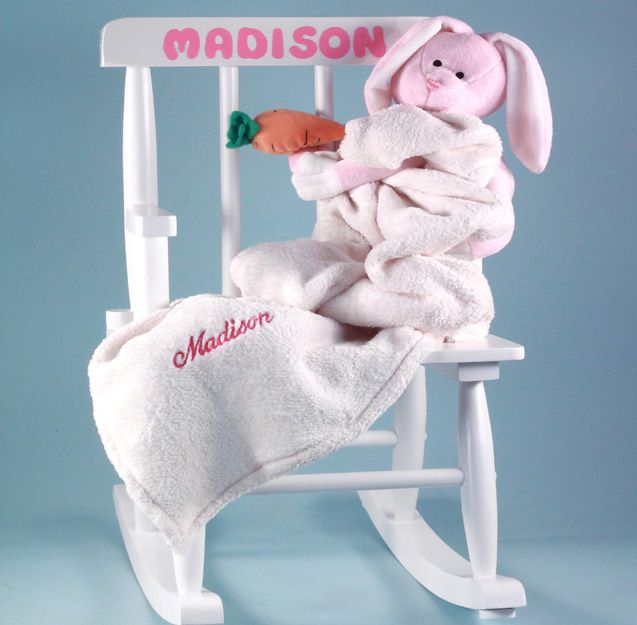 12 best babys first birthday gifts images on pinterest babies personalized babys first rocking chair baby gift girl negle Image collections