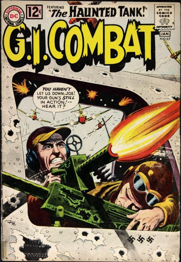 134 best war comics images on pinterest war comics comics and a spotlight on the great combat comics cover work of russ heath publicscrutiny Image collections