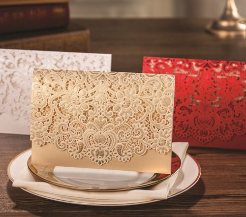 An elegant and classy design invitation , for a business affair, and engagement or wedding. Wow your guests with this elegant invite. A beautiful and elegant  gold lace detail overlay makes the perfec
