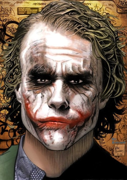 """Joker  ✮✮""""Feel free to share on Pinterest"""" ♥ღ www.unocollectibles.com"""