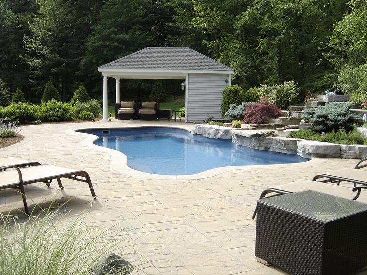 23 best images about fiberglass pools on pinterest for Fiberglass pool installation