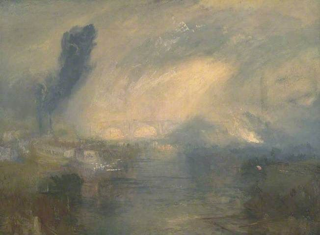 William Turner | The Thames above Waterloo Bridge, c. 1830-5 | Tate Collection