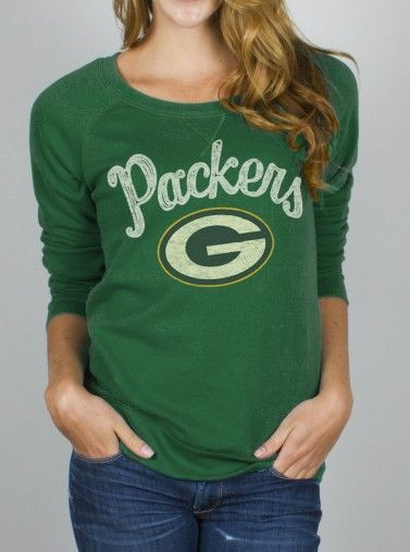 Junk Food Clothing - NFL Green Bay Packers Fleece - Tops - Womens