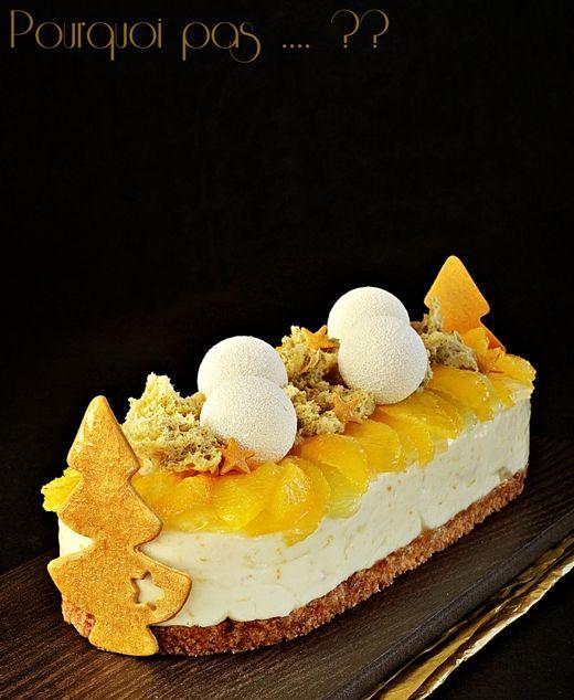 Dessert de fêtes mais adaptable en toute occasion . . . miel de fleur d'oranger, agrumes, thym
