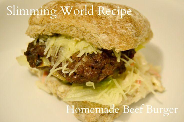 Slimming World Recipe : Homemade Beefburgers