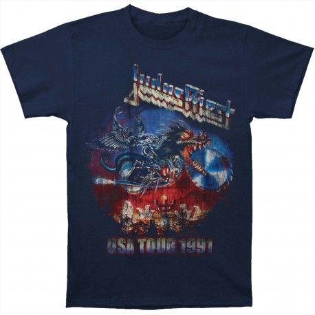 Judas Priest: Painkiller US Tour 91 (tricou)