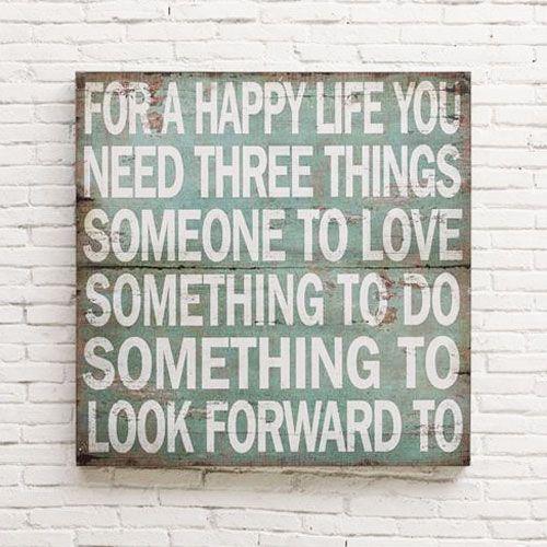Three Things Wall Plaque | dotandbo.com