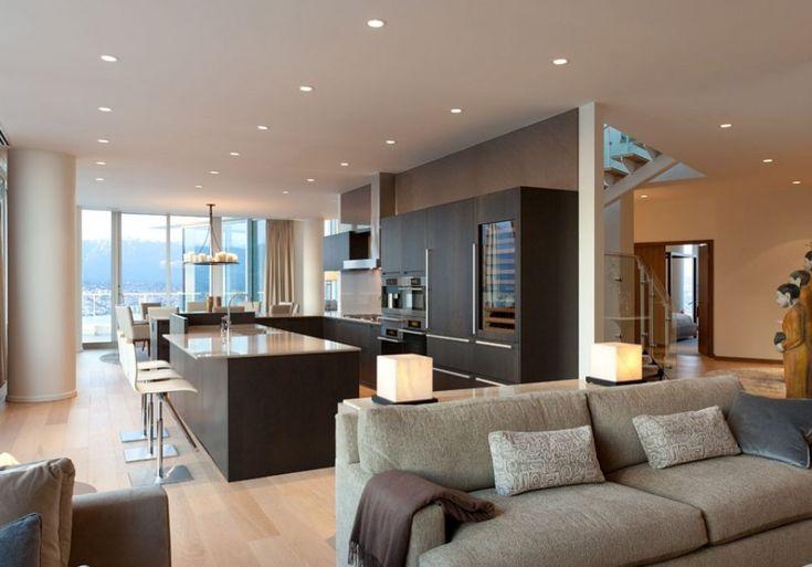 luxurious and modern kitchen design ideas with a neat arrangement