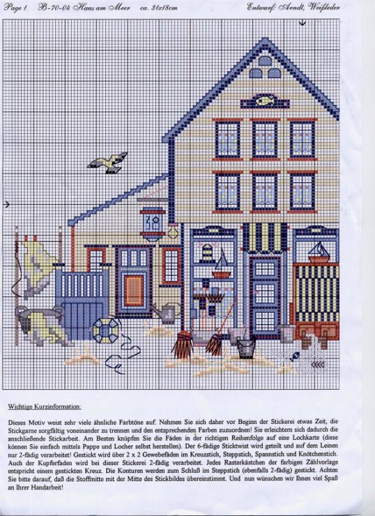 Gallery.ru / B-70-04 Haus am Meer - Морской - Ulrike