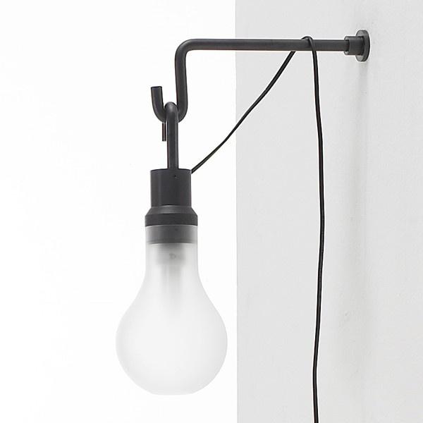 industrial sconceLights Inspiration, Hooks Lights, Simple Lights, Interiors Things, Bare Lights, Sconces, Lite Lights, Design, 100Watt
