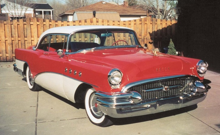 (80) Old Cars Weekly/Ruth and Gerry Cheshire's '55 Buick