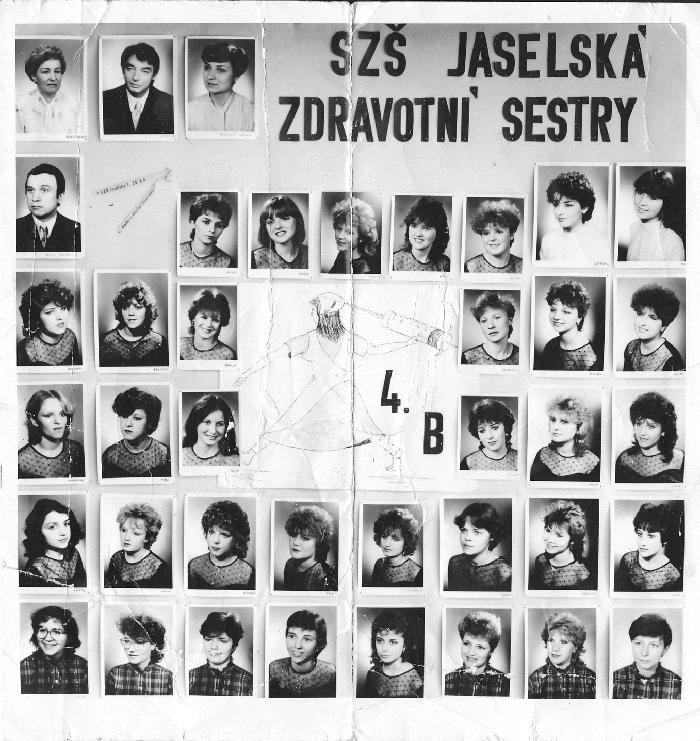 Od Hany, SZŠ Brno Jaselská 7, ZS4B 1986
