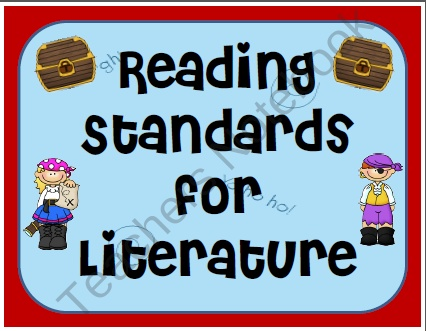 3rd Grade Common Core Reading Standards for Literature and Informational Text  product from Ms-Third-Grade on TeachersNotebook.com