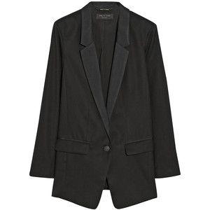 Ines oversized wool blazer