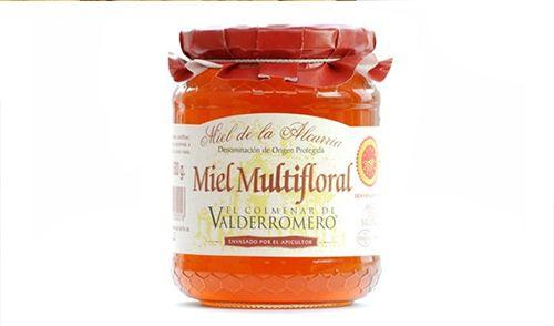 Miel de la Alcarria. Color ámbar pálido anaranjado. Aromática, sutilmente floral.  Densa, homogénea, de baja humedad con tendencia a una fina cristalización. En boca es cremosa, suave, dulce no empalagoso, con ligeras notas ácidas muy agradables. http://www.porprincipio.com/miel-y-dulces/83-miel-alcarria.html#