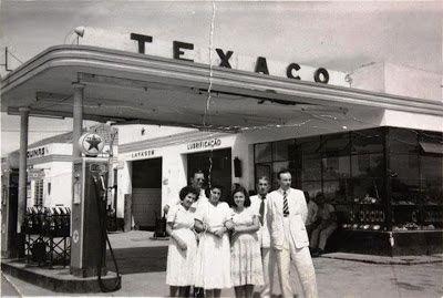 Antigos Verde Amarelo: Posto de gasolina Texaco ...