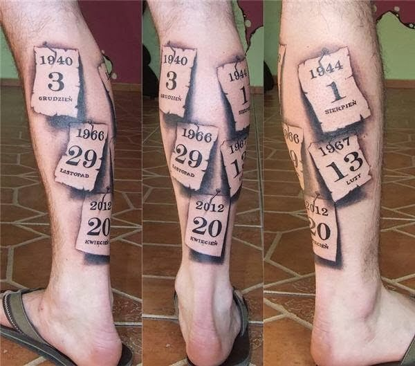 important date tattoos