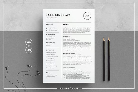 Resume/CV - JK  @creativework247