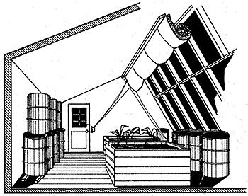 solar greenhouse plans - Bing Images  compost generated heat
