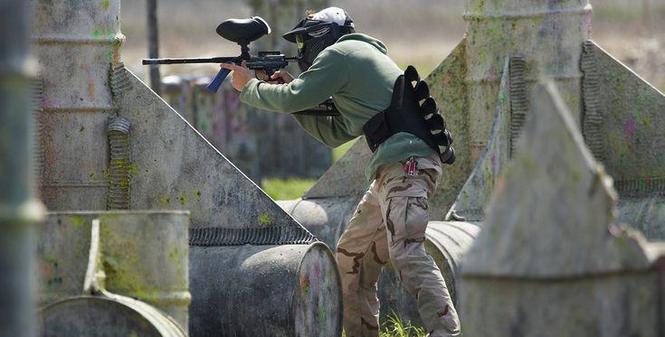 """Paintball spielen """"1000 Paintballs"""" Porta-Westfalica #Waffe #Krieg #Pistole"""